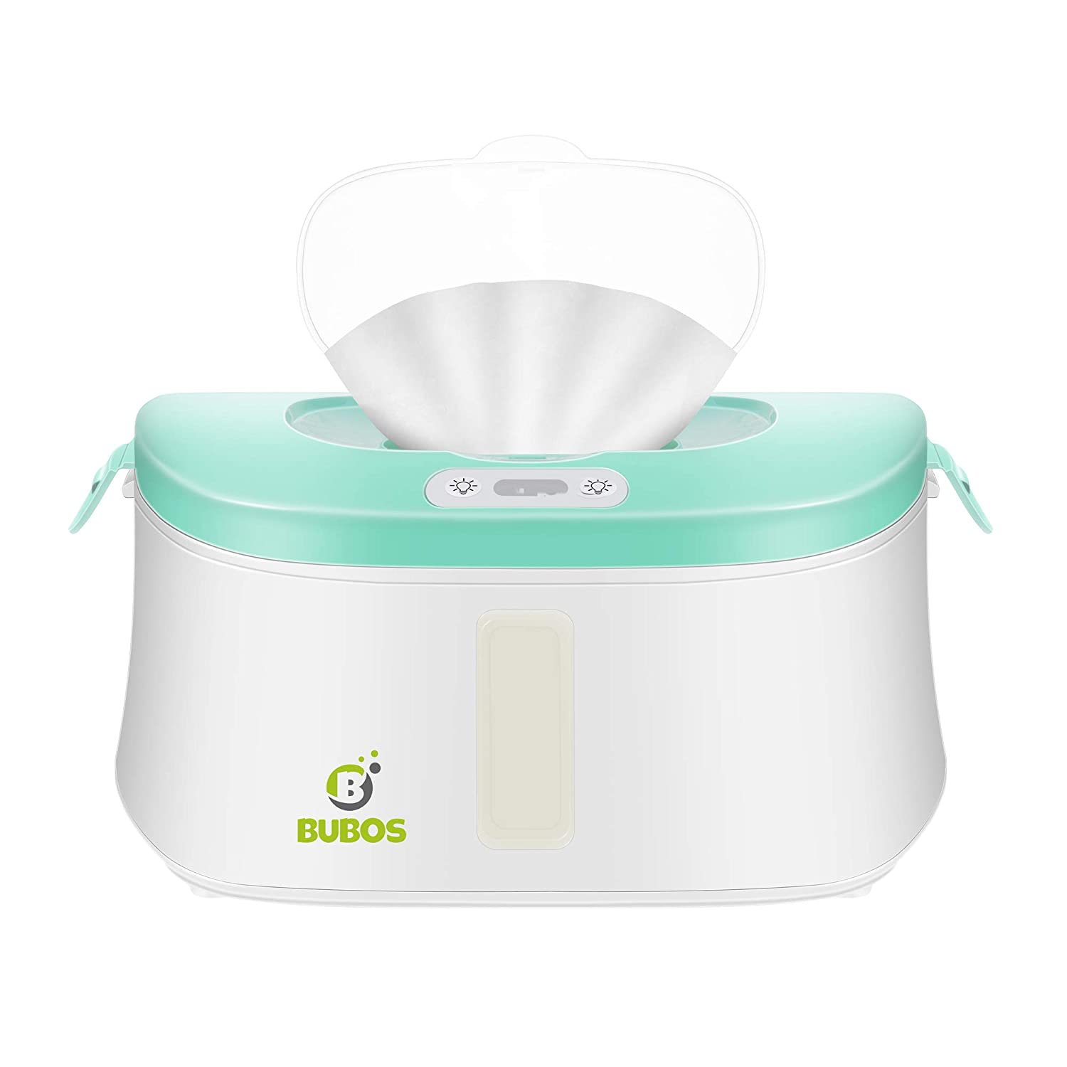 Bubos Upgraded Wipe Warmer and Wet Wipes Dispenser with Advanced LED Night Light
