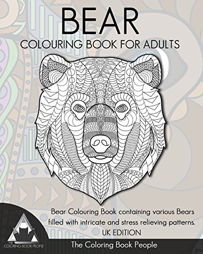 Download Bear Colouring Book For Adults Containing Various Bears Filled With Intricate And Stress Relieving Patterns