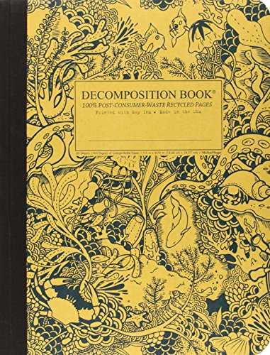 Under the Sea Decomposition Book: College-Ruled Composition Notebook With 100% Post-Consumer-Waste Recycled Pages