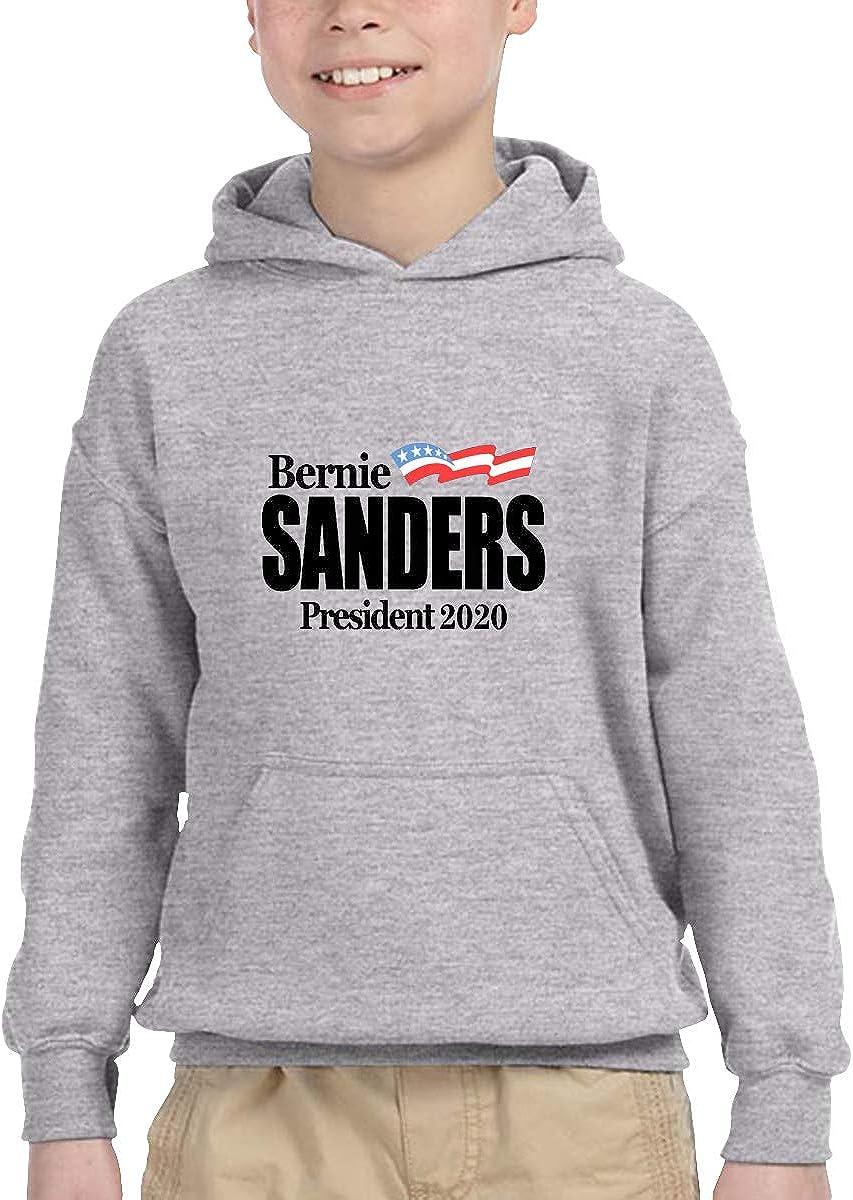 McKenna Creative Free Shipping Bernie Sanders 2020 Kids Hoodie Unisex Pullover Hooded Sweatshirt