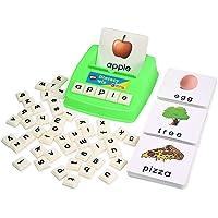 BOHS Literacy Wiz Fun Game -Lower Case Sight Words - 60 Flash Cards - Preschooler Language Learning Educational Toys