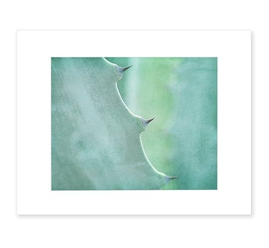 Mint Green Abstract Wall Art