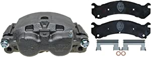 ACDelco 18R1381SV Specialty Front Disc Brake Caliper Assembly with Performance Fleet/Police Pads (Loaded), Remanufactured