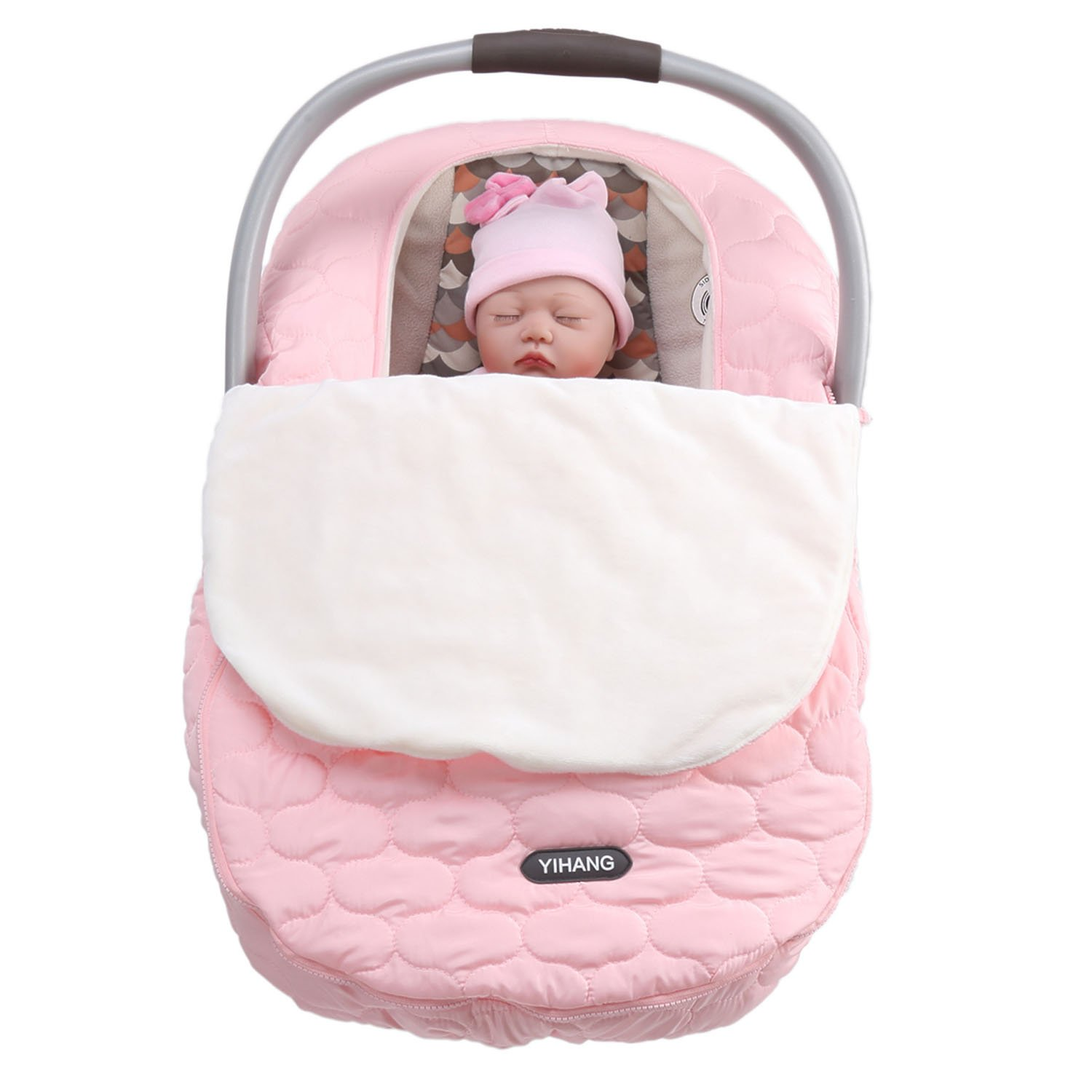 Awesome Yihang Baby Car Seat Covers For Girls And Boys Infant Car Seat Cover For Autumn And Winter Car Seat Machost Co Dining Chair Design Ideas Machostcouk
