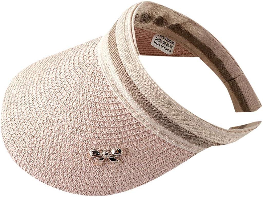 LOPILY Sombrero de Playa Sombrero Sol Mujer Sombrero de Copa vacío ...