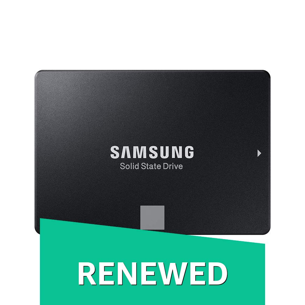 Samsung 860 EVO 1TB 2.5 Inch SATA III Internal SSD (MZ-76E1T0B/AM) (Renewed)