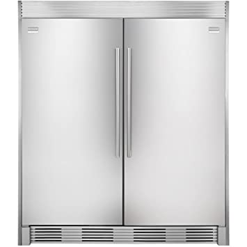 electrolux refrigerator white. electrolux trimkitez2 trim kit for tall door twins refrigerator white
