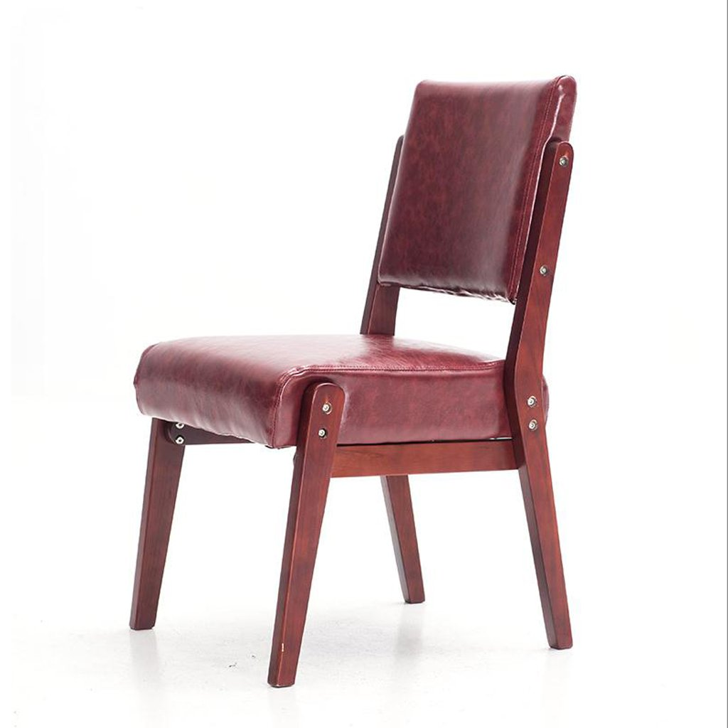 Amazon.com: KXBYMX Simple Wooden Chair, Nordic Dining Chair ...