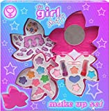 Its Girl Stuff 3-Tier Play Make Up Set in Pretty Shaped Case