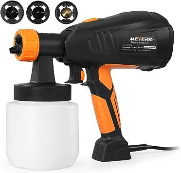 Paint Sprayer, Meterk Electric Spray Gun - Impressive Viscosity Cup