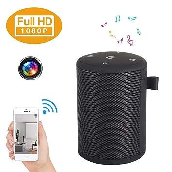 4K Hidden Camera 1080P WIFI HD Spy Cam Bluetooth Speaker Wireless Video Recorder