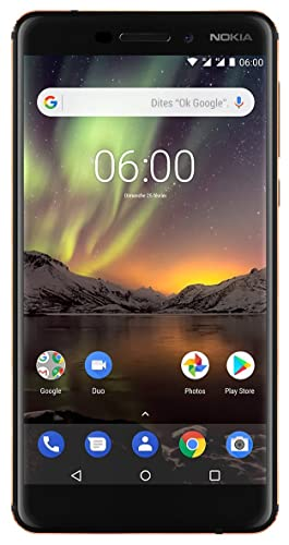 Nokia 6.1 (ou Nokia 2018)  : un smartphone lowcost sous Android One