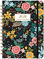 2021 Planner - Colord Flowerd & Pink Gold Quicksand & Purple Quicksand