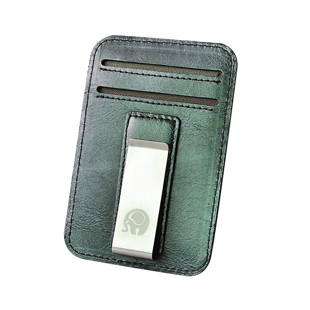 Slim Minimalist Front Pocket Hook Blocking Leather Wallets Pocket Gifts Man Wallet Leather Desigual Card Wallet Big Plus FD-FLY88