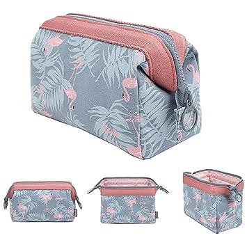 Blue Horse Zipper Canvas Coin Purse Wallet Make Up Bag,Cellphone Bag With Handle