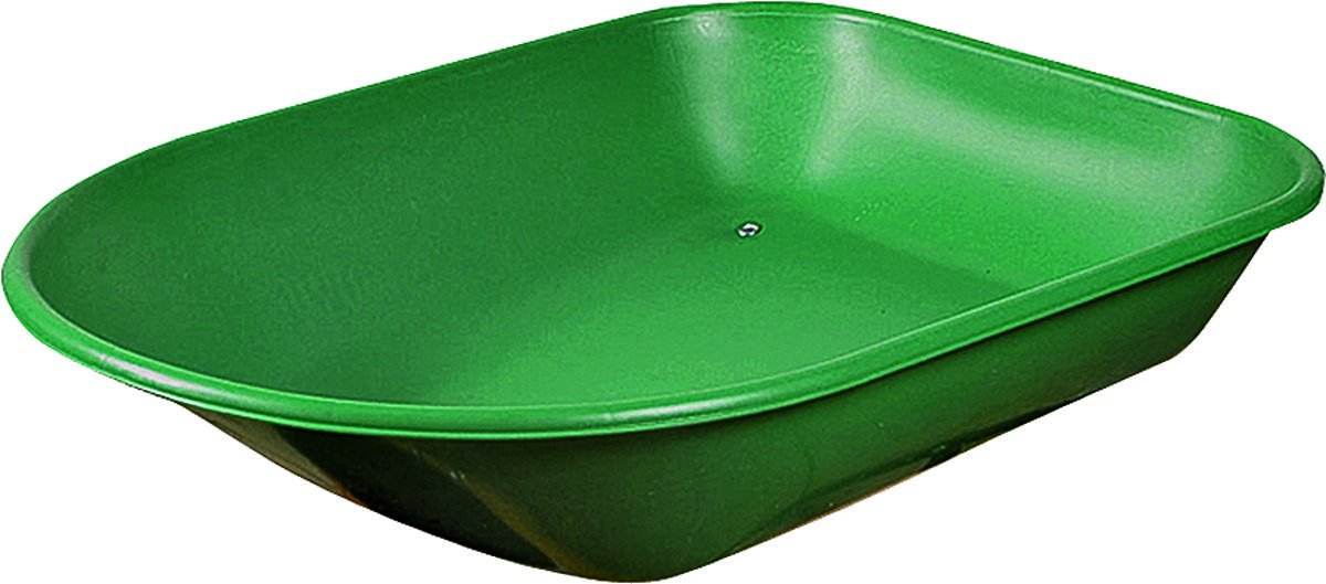 Mintcraft TRAY-4S-LS-OR Wheel Barrow Steel Tray, 4cu.', Green