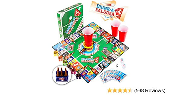 amazon com drink a palooza board game combines old school new
