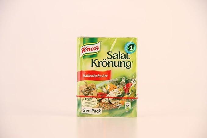 Ensalada alemana Knorr Salatkrönung Estilo Italiano - 1 x 5 piezas