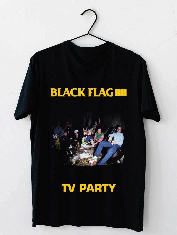 Black Flag Tv Party 29 T Shirt For Unisex