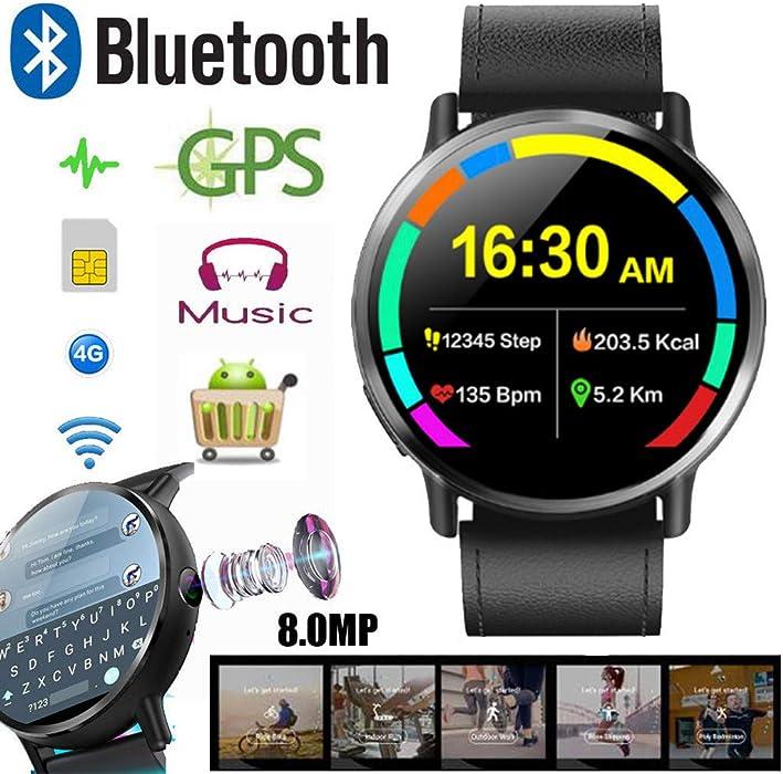 Criforry 2019 New Watch LEMFO LEM X 4G Smartwatch Phone 16GB ...