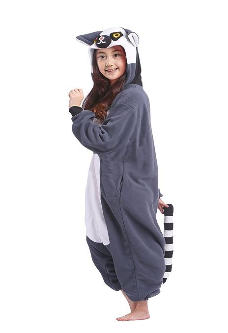 34fc04c0674a Wamvp Pyjamas Kinder Kostüm Jumpsuit Tier Onesie Kinder Jungen ...