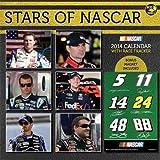 2014 Stars of NASCAR 12 x 12 Deluxe Wall Calendar -14-1610