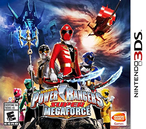 3ds games power rangers - 1