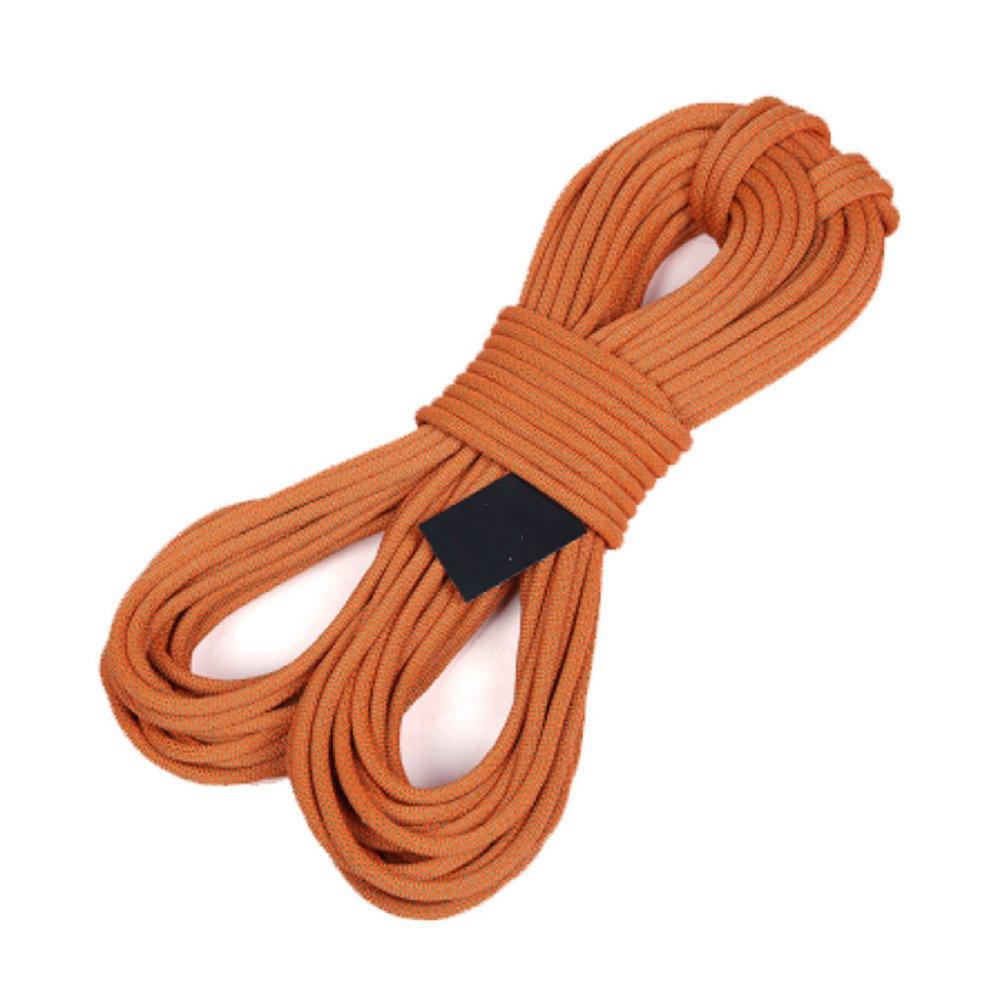 Orange Rock climbing ropes Cordes d'escalade en Plein Air échapper à La Corde De Rappel Sauvetage en Rappel Corde à Linge Attaché Tente,bleu-30m12mm 40m12mm