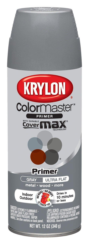 Painting miniatures color master primer - Amazon Com Krylon K05131702 Colormaster Red Oxide Indoor Outdoor Primer 12 Oz Aerosol Automotive