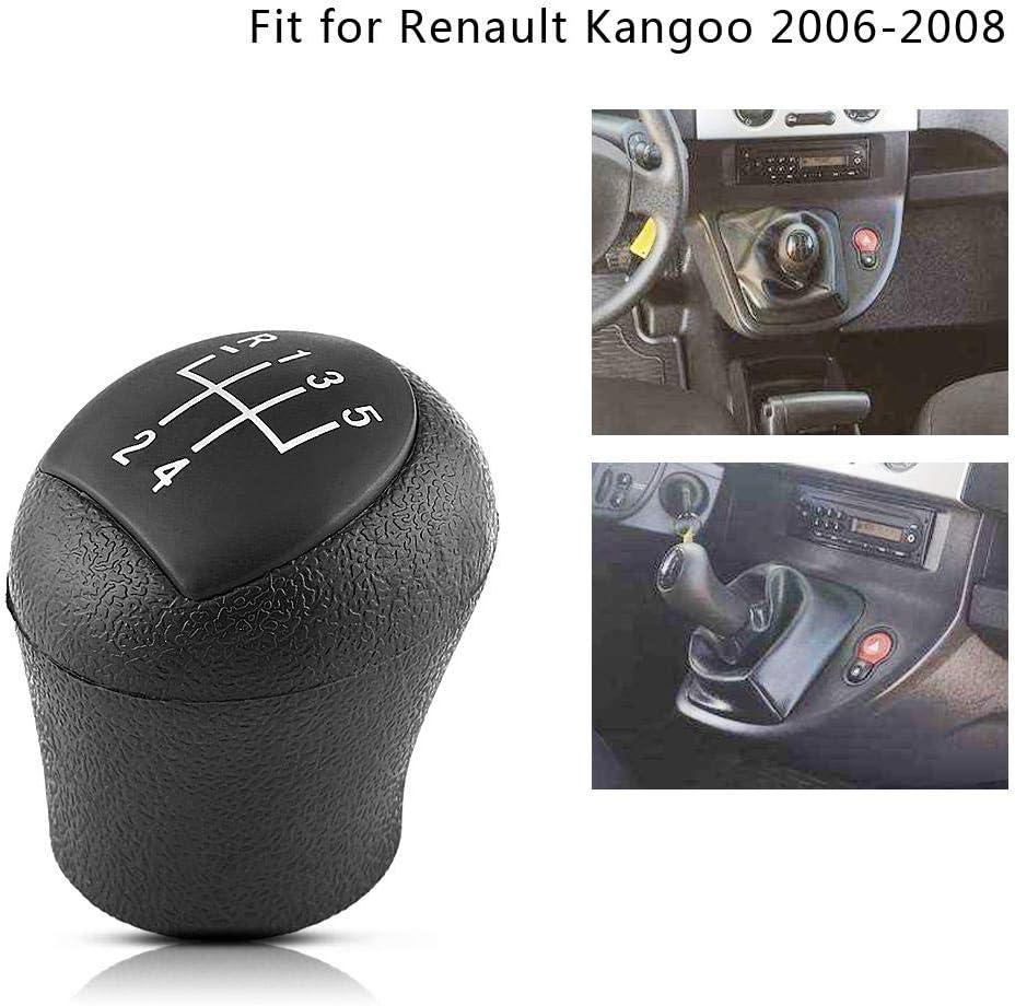 Shift Knob Head 5 Speed For Kangoo 2006-2008