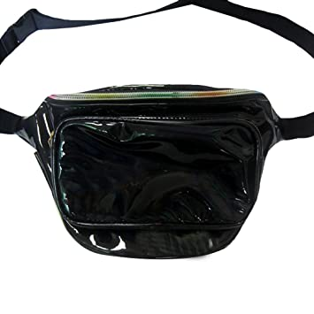 Amazon.com: Dolores moda femenina cangurera holograma ...