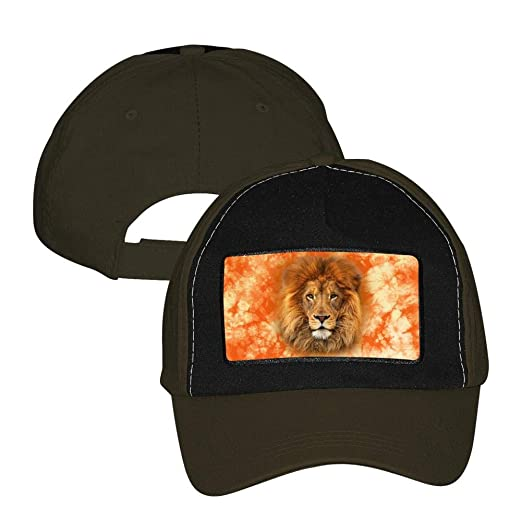 39e97355 MYHAT Unisex Adjustable Baseball Cap Cool Lion Trucker Hat Sports ...