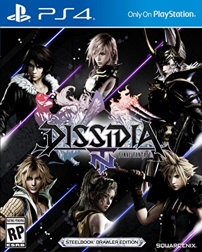 Dissidia Final Fantasy Nt Steelbook Brawler Edition   Playstation 4