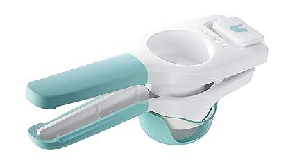 keeeper 1073962400000 Exprimidor con núcleo de recogida Colador y vaso, plástico sin BPA, 24