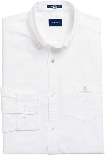 GANT The Beefy Oxford Shirt Reg BD Camisa para Hombre: Amazon.es: Ropa y accesorios