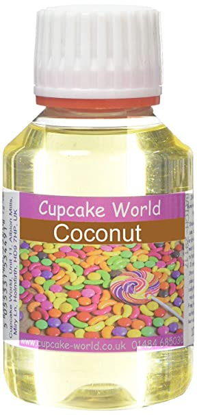 Cupcake World Aromas Alimentarios, Sabor Coco Total: 100 ml