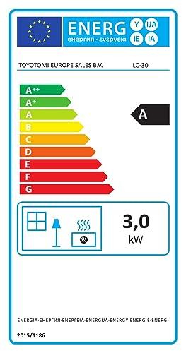 Zibro LC-30 Estufa de combustible electrónica, 3.00 kW, Plata, 48 ...