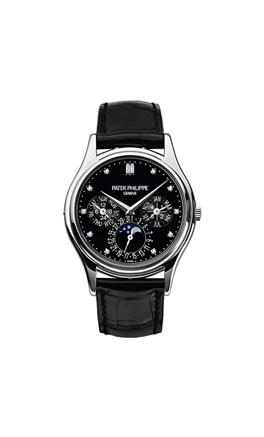 Patek Philippe Grand Complications Moonphase 37mm Platinum Watch 5140 P 013 by Patek Philippe