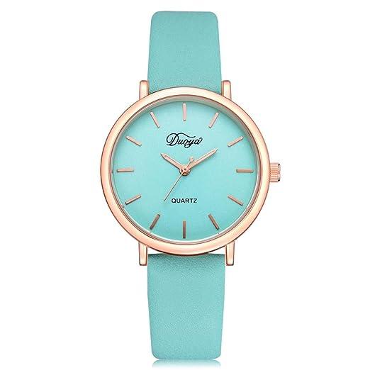 7da4f82e5 Auwer Men's Quartz Wristwatch, Fashion Women Men Couple Watch Rounded  Colorful Analog Pointer Quartz Wrist