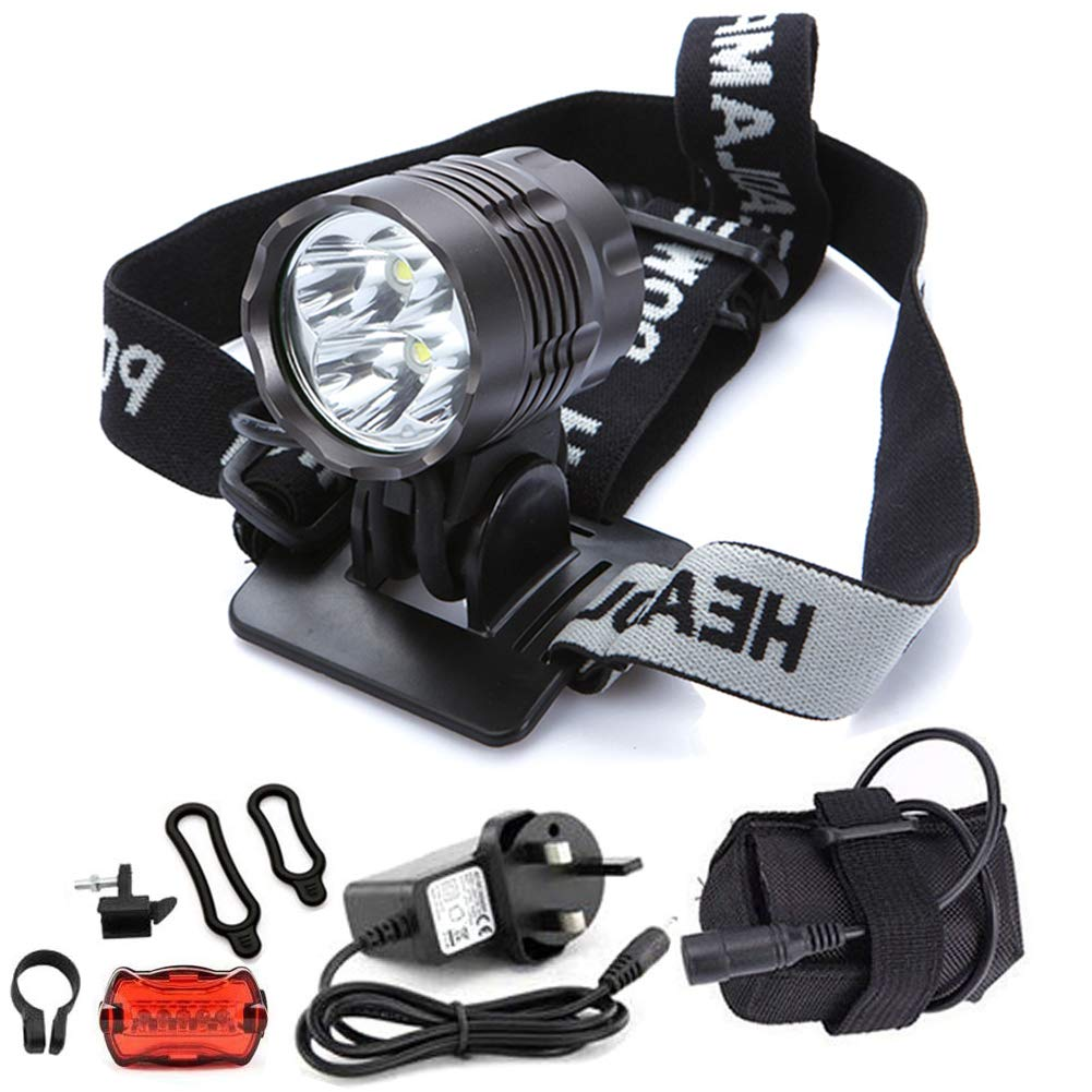 Waterproof 500 LM XML T6 LED Cycling Bike Bicycle Head Light Zoom Torch USB Lamp