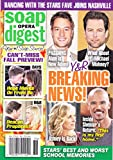 Justin Hartley, Michael Muhney, Shemar Moore and Eileen Davidson (Young and the Restless), Sean Kanan and Katherine Kelly Lang (Bold & the Beautiful), Daniel Cosgrove and Kristian Alfonso - September 8, 2014 Soap Opera Digest Magazine