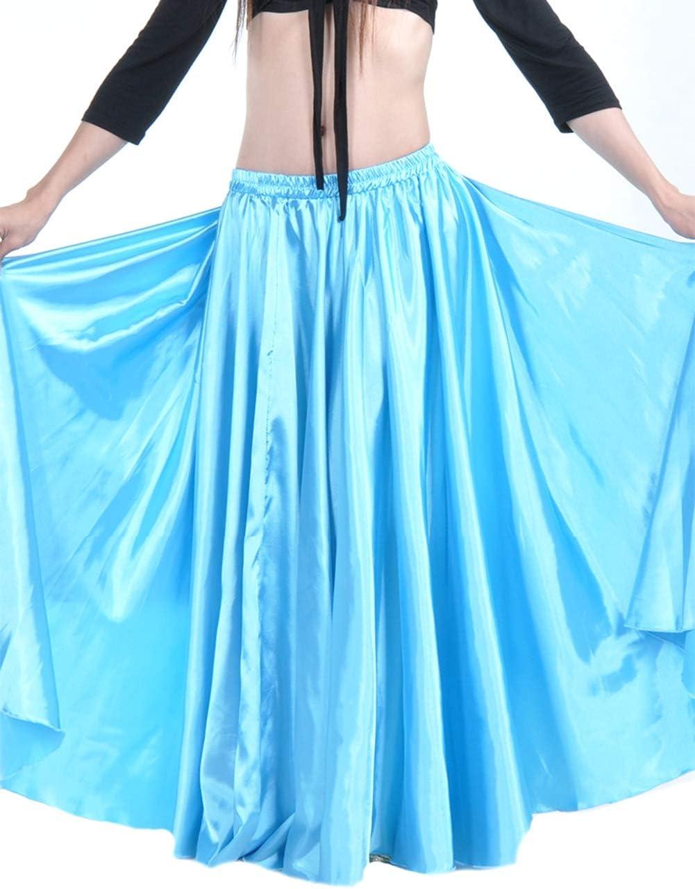 Insun Mujer Falda para Danza del Vientre Satén Ropa para Disfraz ...
