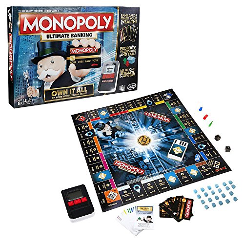 Monopoly - Electronic Banking Board Game for Families