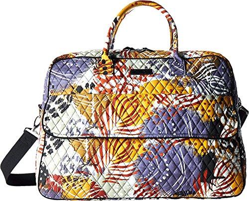 Vera Bradley Luggage Women's Grand Traveler Painted Feathers Duffel Bag