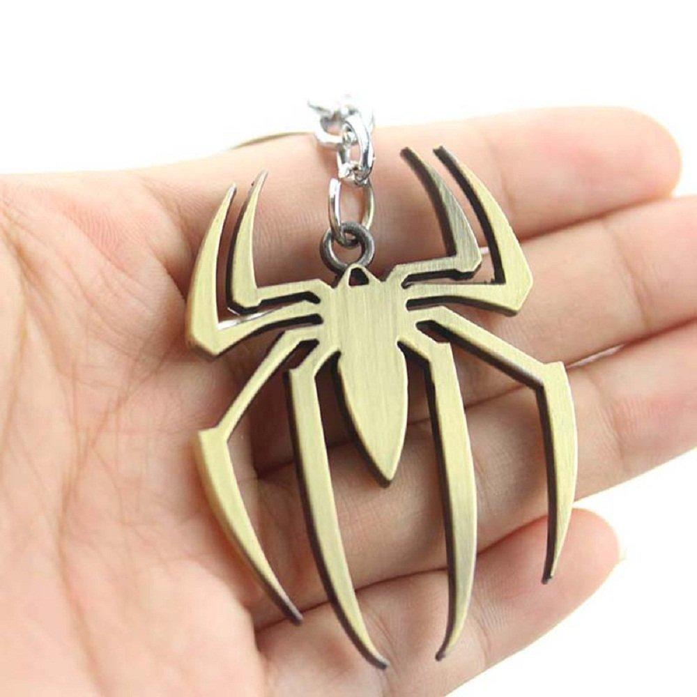 Llavero Spiderman Logo Araña Marvel Avengers (Bronce ...