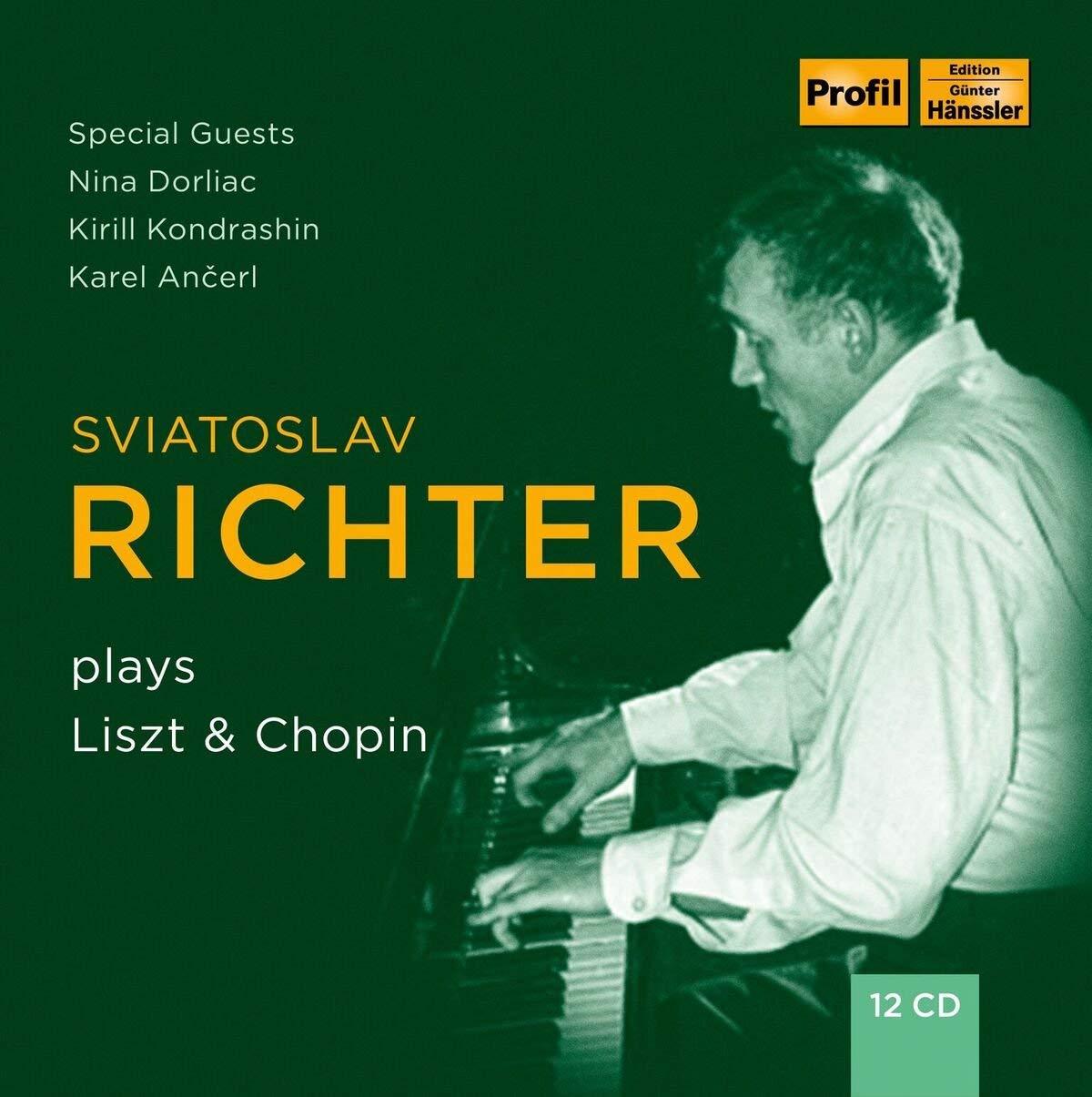CD : SVIATOSLAV RICHTER - Sviatoslav Richter Plays Liszt & Chopin (12PC)