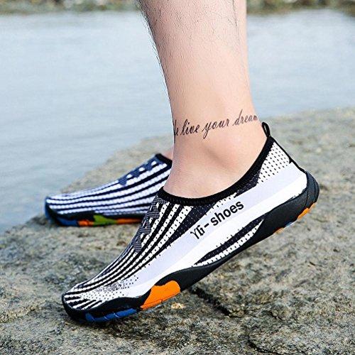 Amazona Unisex Uomo Donna Stampato Quick-dry Swim Calze Da Surf Yoga Pelle Scarpe Sportive Bianche