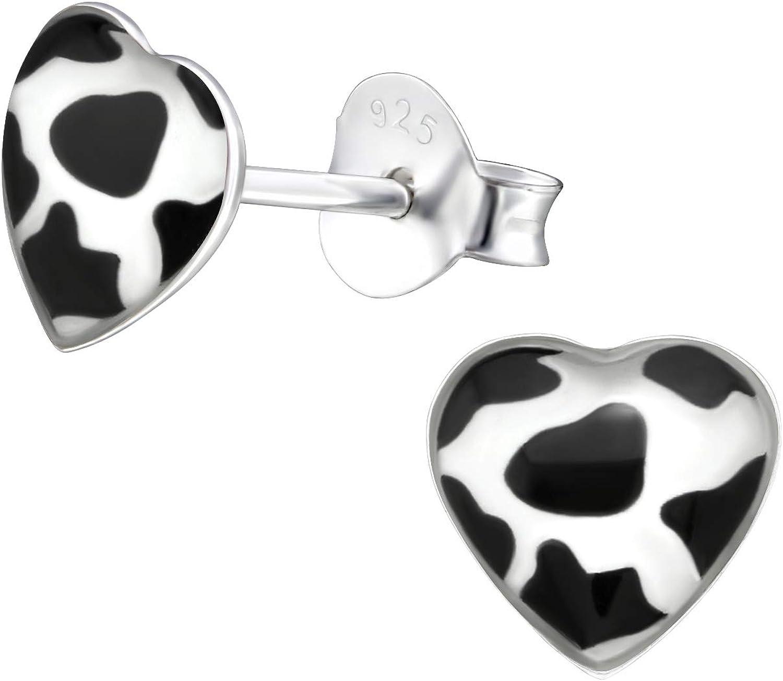 FJ Women Heart Cut Cubic Zirconia Dangle Drop Hoop Earrings Jewelry Gift Code