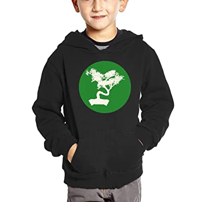 Bonsai Baby Boy Children's Soft Pullover Hoodies Funny Hooded Sweatshirts With Pockets