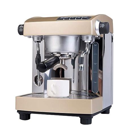 Amazon.com: Máquina de café semiautomática con doble bomba ...